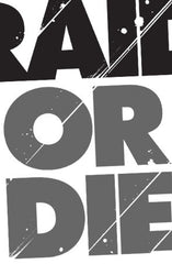 Raid Or Die (Men's White Tee)