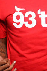 Hieroglyphics X Adapt :: 93 'til (Men's Red Tee)