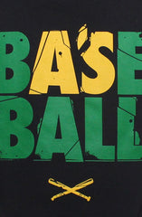 Baseball (Men's Black Tee)