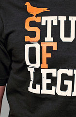 Stuff of Legend (Men's Black/Orange Tee)