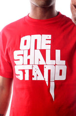 One Shall Stand (Men's Red Tee)