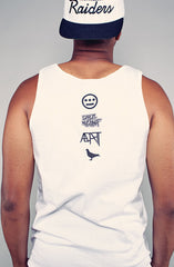 Hieroglyphics x Adapt :: 93 'til (Men's White Tank)