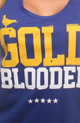 Gold Blooded (Women's Royal Tank Top)