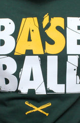 Baseball (Men's Hunter Green Tee)