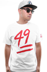 Booger Kids X Adapt :: Keep It 49 (Men's White Tee)