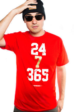 Colin Kaepernick X Adapt :: 247 (Men's Red Tee)