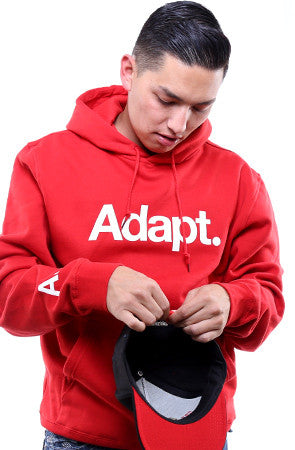 CTA (Men's Red/White Hoody)