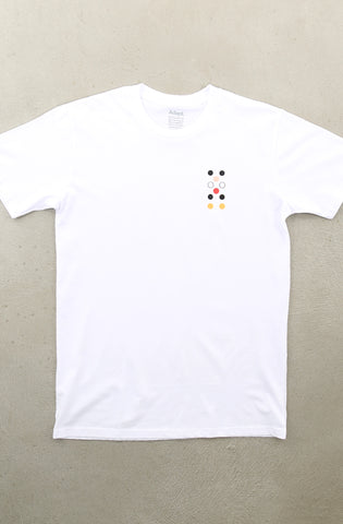 Dot Matrix LP (Men's White A1 Tee)
