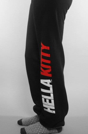 Ashley Vee x Adapt :: Hella Kitty (Women's Black/Red Sweats)