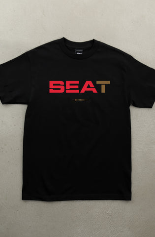 Beat SEA (Men's Black Tee)