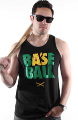 Baseball (Men's Black Tank)