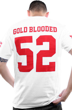 Gold Blooded Legends :: 52 (Men's White Tee)