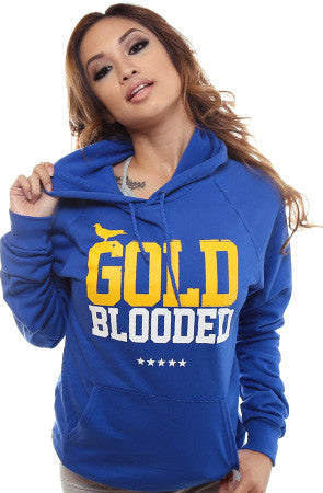 GOLD BLOODED Women's Royal Hoody
