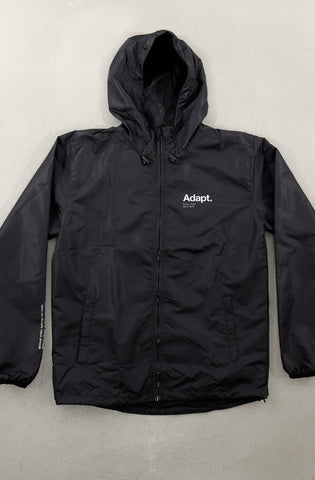 Future Proof (Men's Black Windbreaker)