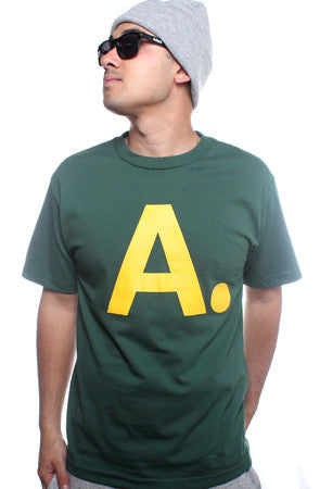 A-Frame (Men's Forest/Gold Tee)