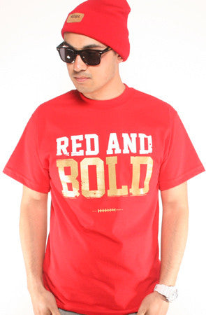 LAST CALL - Red and Bold (Men's Red Tee)