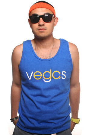 Vegas (Men's Royal/Gold Tank)