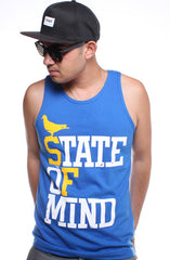 State of Mind (Men's Royal/Gold Tank)