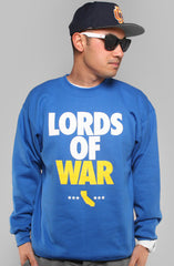 Lords of War (Men's Royal Crewneck Sweatshirt)