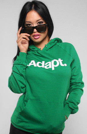 CTA (Women's Green Hoody)
