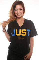Us (Women's Black V-Neck)