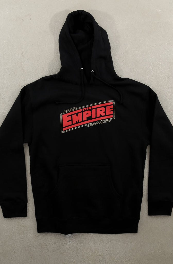 Empire Strike (Men's Black Hoody)
