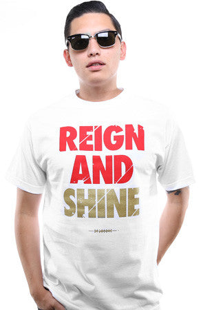 Reign and Shine (Men's White Tee)