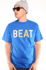 Beat LA (Men's Royal/Gold Tee)