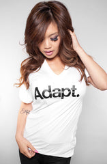 CTA (Women's White V-Neck)