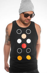 Dot Matrix (Men's Black Tank)