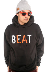 Beat LA (Men's Black/Orange Hoody)