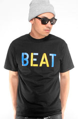 Beat LA (Men's Black/Royal Tee)