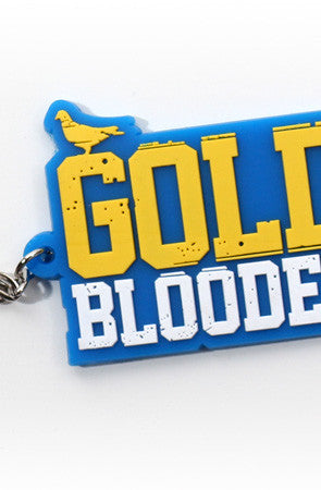 GOLD BLOODED (Royal/Gold Keychain)