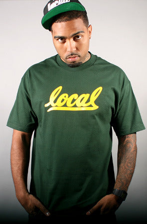 Local II (Men's Green/Gold Tee)