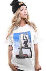Ashley Vee x Adapt :: Oracle (Men's White Tee)