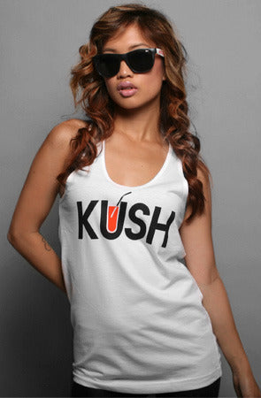 Kush (Women's White Tank Top)