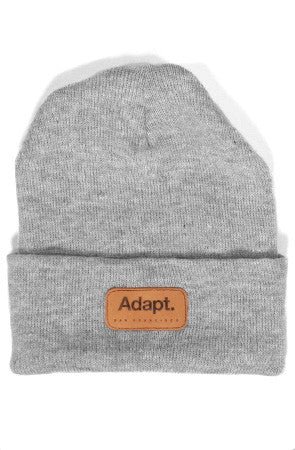 CTA (Ash Heather Cuff Beanie)