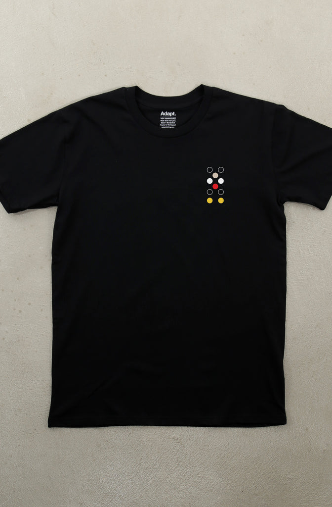 Dot Matrix LP (Men's Black A1 Tee)