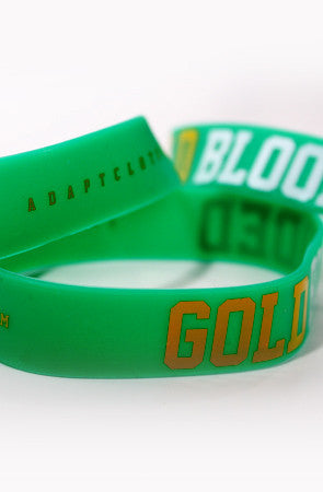 Gold Blooded (Green Stretch Band 3-Pack)