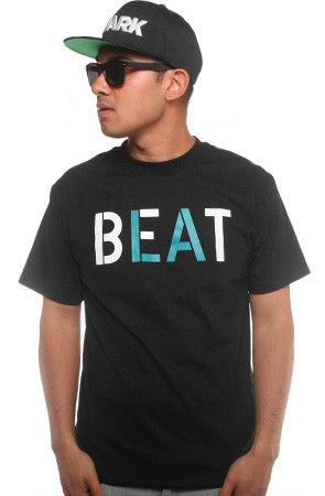 Beat LA (Men's Black/Teal Tee)
