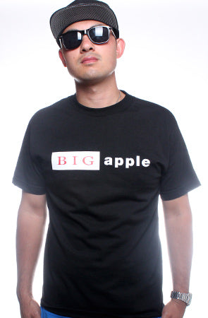 BIG Apple (Men's Black Tee)