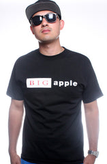 LAST CALL - BIG Apple (Men's Black Tee)