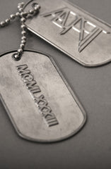 Dog Tags (Stainless Steel)
