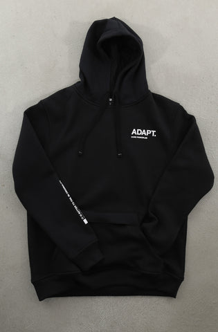 Core Principles (Men's Black Hoody)