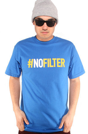 Equipto X Adapt :: No Filter (Men's Royal Tee)