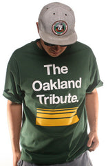 The Oakland Tribute (Men's Green Tee)