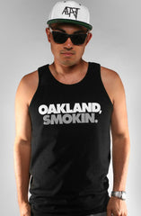 Oakland Smokin (Men's Black Tank)