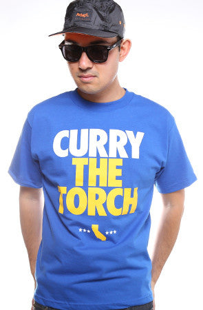 LAST CALL - Curry The Torch (Men's Royal Tee)