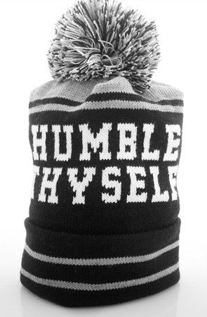 Humble Thyself (Black Beanie)