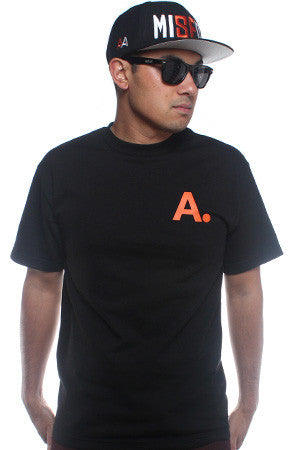 A-Type (Men's Black/Orange Tee)